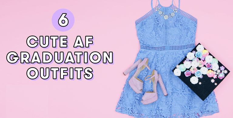What To Wear To Graduation 2018 - How To Dress For High School Or -7709