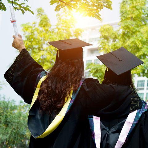 Funny College Graduation Captions - cool attitude captions