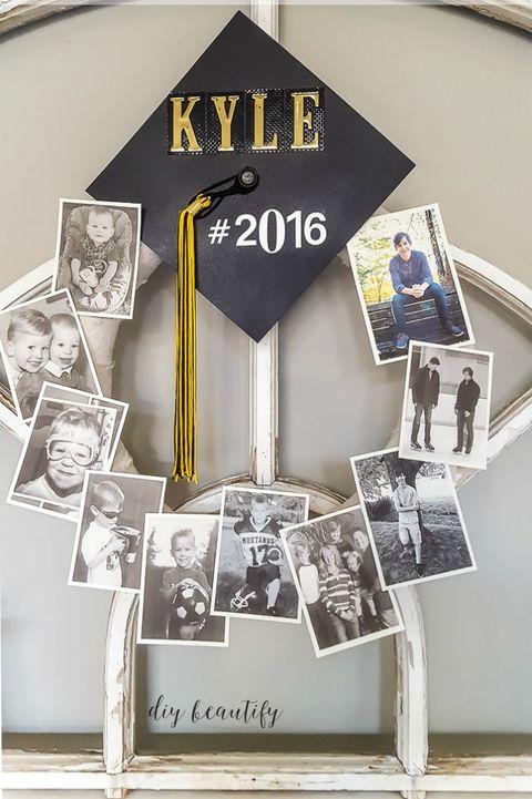 graduationpartyideasmemorywreath