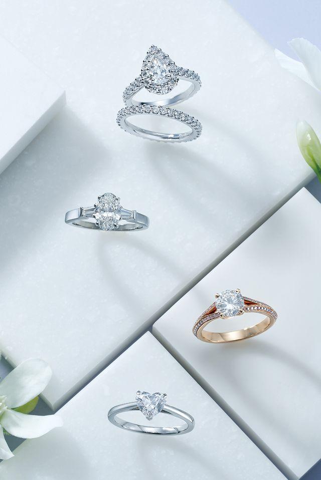 ステータスブランドのときめき婚約指輪♡<グラフ編>