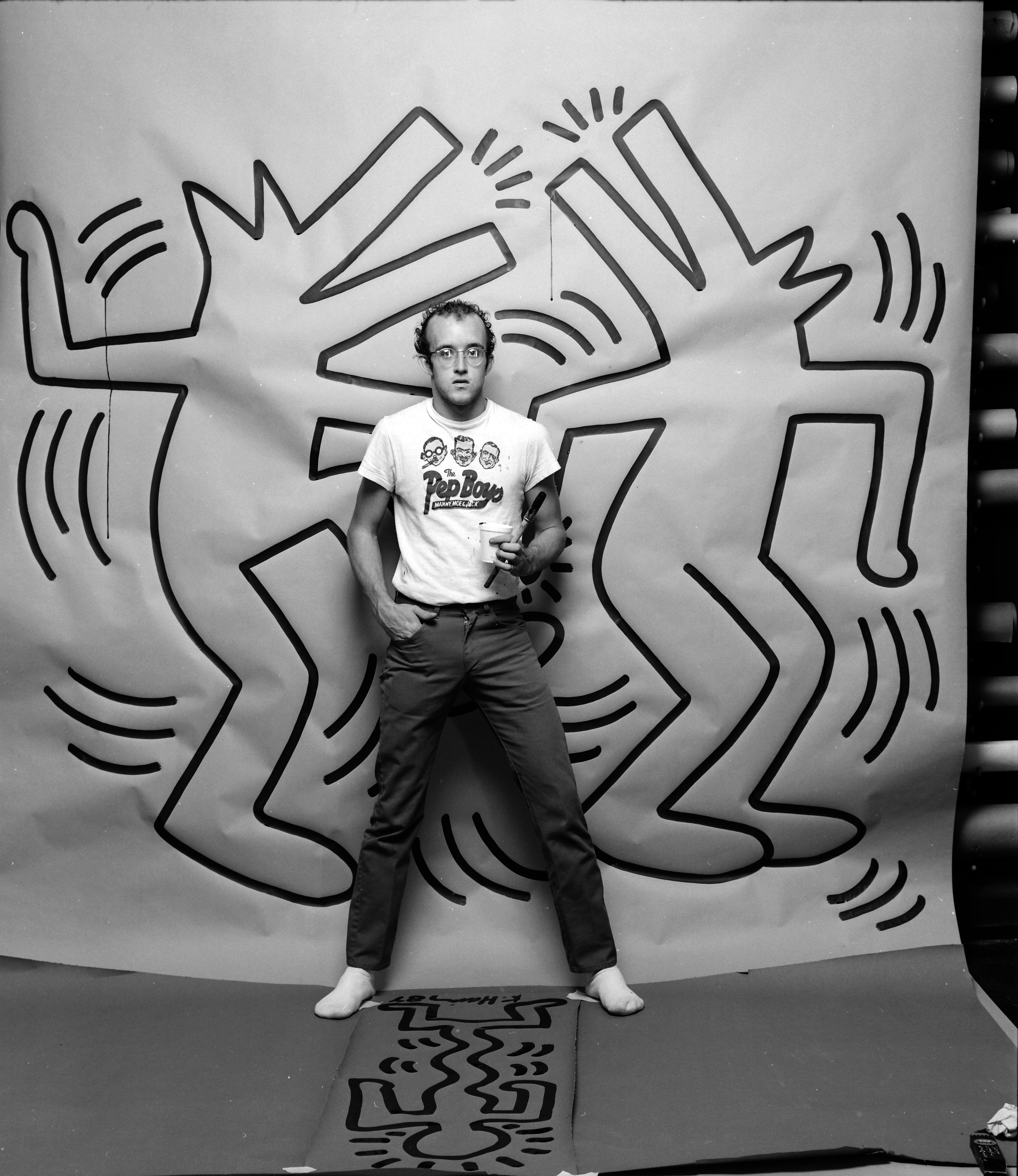 Keith Haring, dj