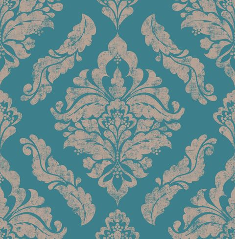Graham & Brown Boutique Damaris Wallpaper Turquoise