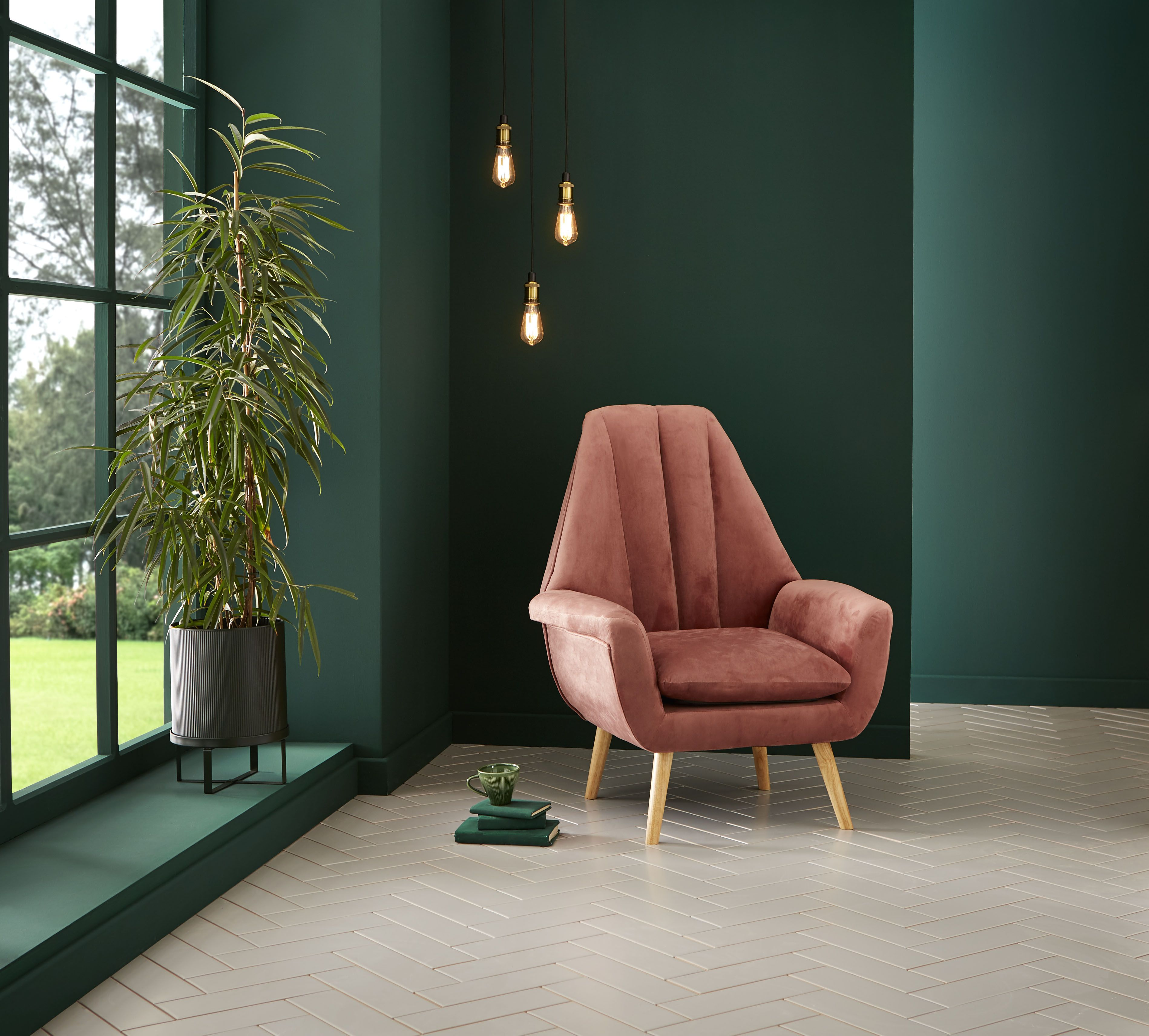 Dark green 'Adeline' is Graham & Brown's Colour of the Year for 2020