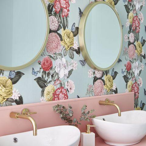 2020 Wallpaper Trends.Agate Wallpaper Teal