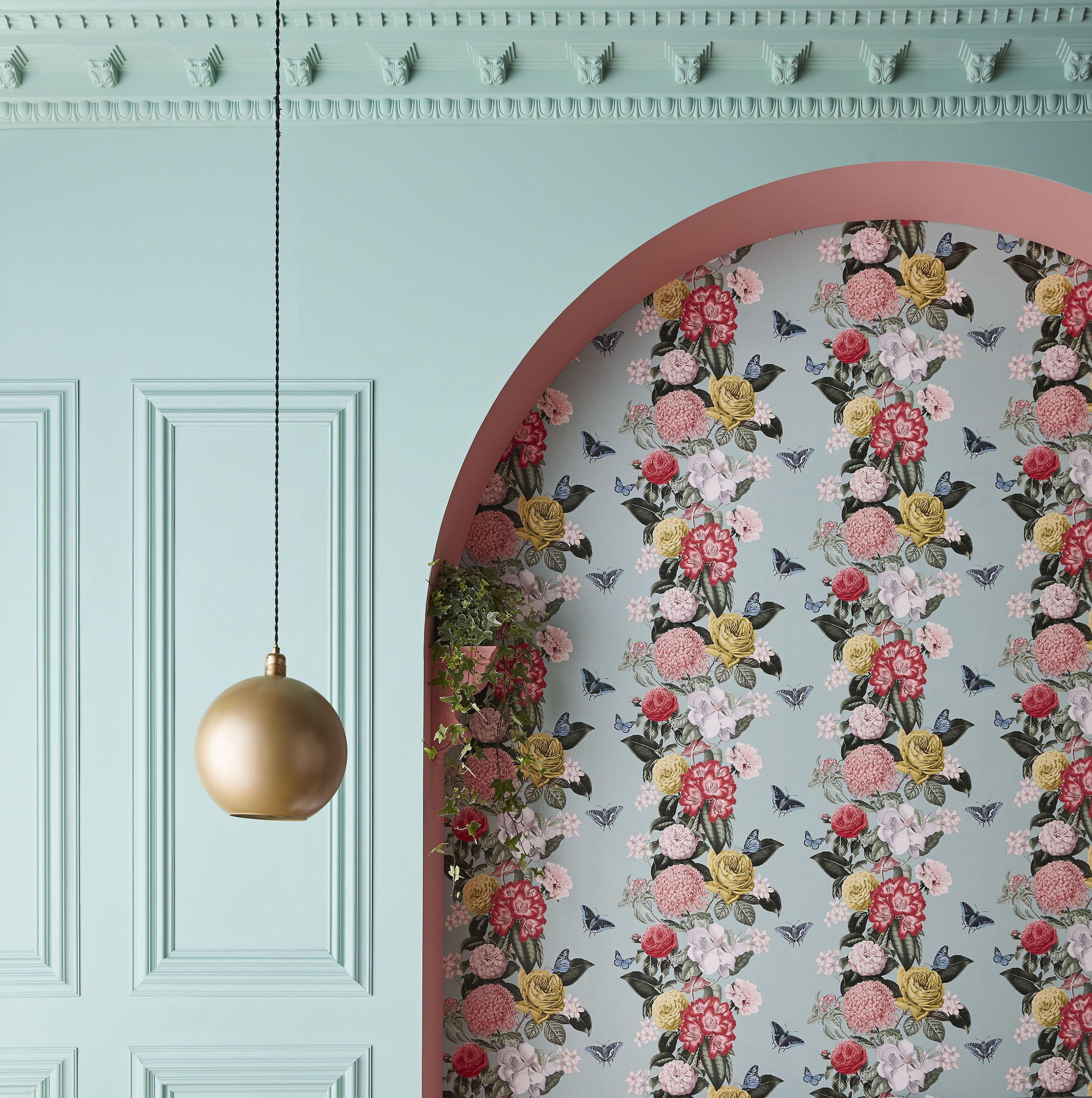 Wallpaper Of The Year 2020 Graham Brown S Bloomsbury Neo Mint