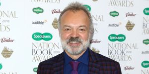 Graham Norton pink gin