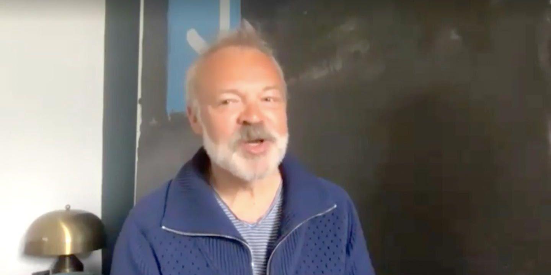 Richard and Judy talk Graham Norton lockdown tan in first - look