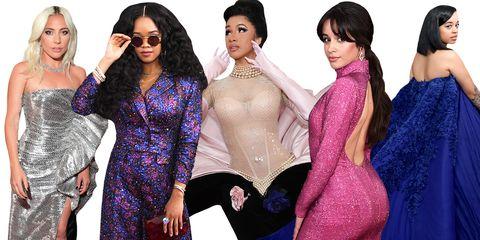 Purple, Violet, Fashion, Fashion model, Dress, Event, Eyewear, Formal wear, Black hair, Fashion design,