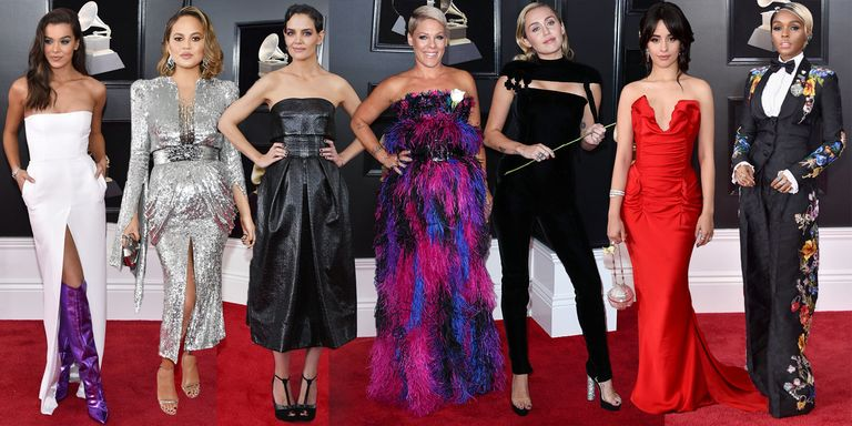 Grammys 2018: All The Outfits From The Grammy Awards Red