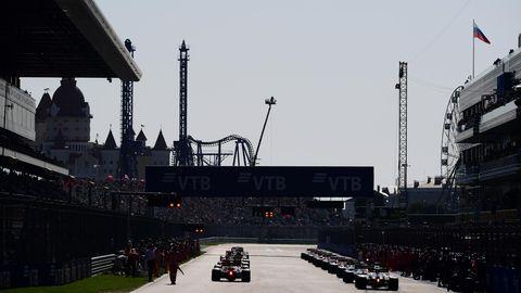 imágenes del gran premio de rusia de fórmula 1, temporada 2020