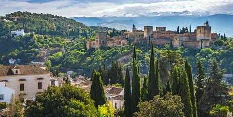 La Alhambra de Granada, España