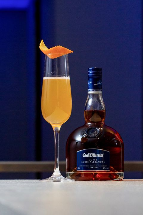 grand marier champagne cocktail