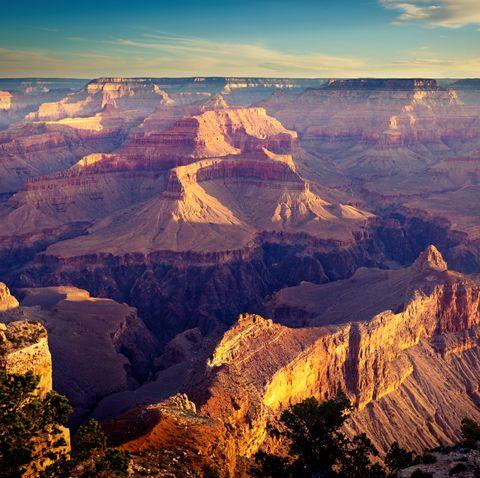 Grand Canyon National Park South Rim Scenic American Southwest Landscape