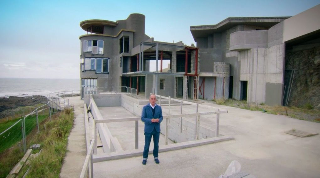 """""""Tragic"""" and """"saddest ever"""" Grand Designs episode sees married couple split with £4 million of debt and lighthouse dream unfinished"""