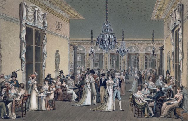 grand salon, paris, early 19th century