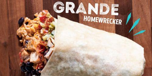 Moe's Brings Back Grande Homewrecker Burrito