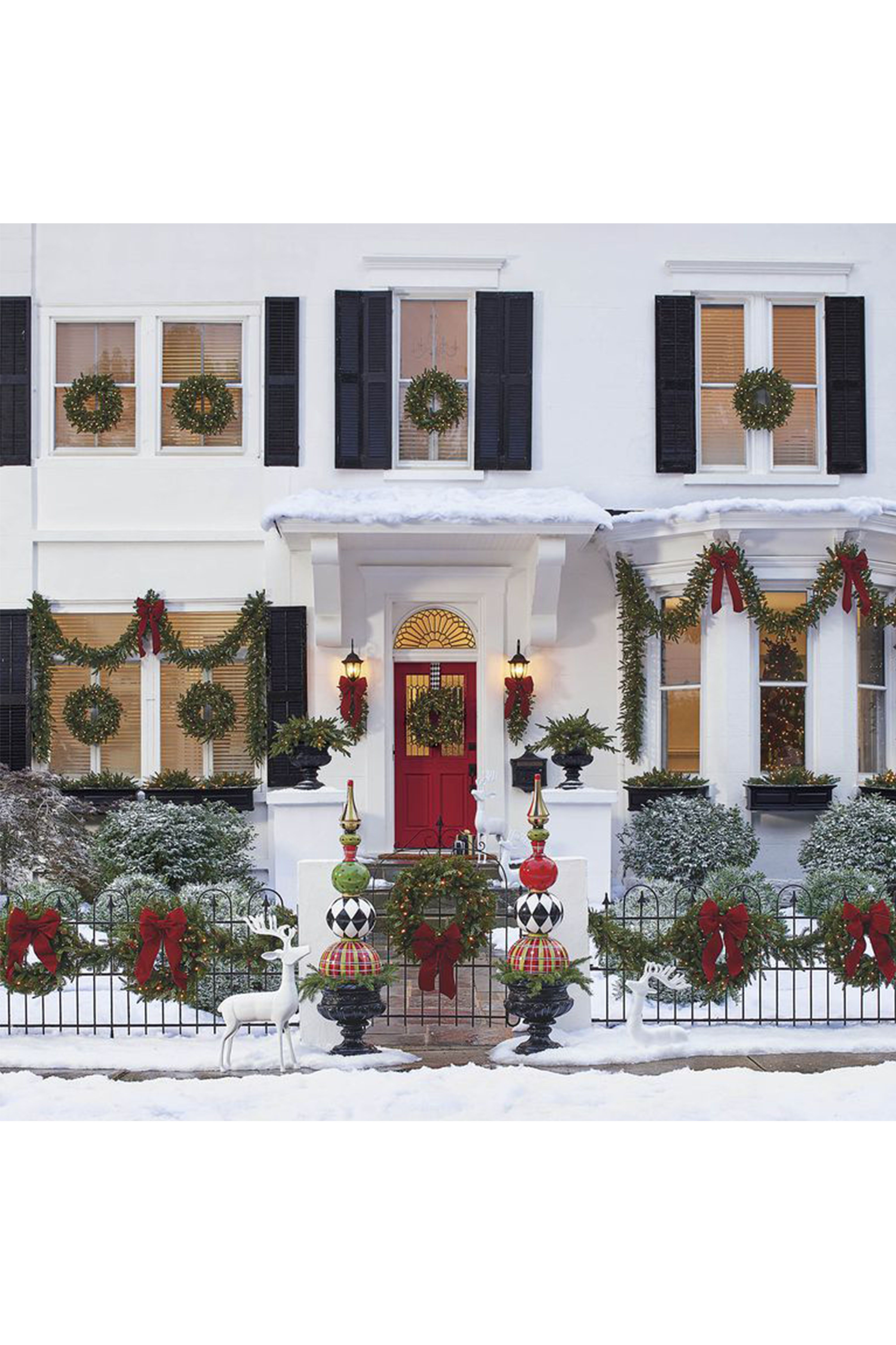 Grandin Road Christmas.15 Ways To Decorate Your Porch For Christmas Christmas