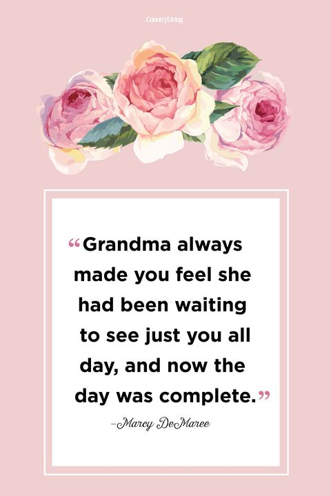 Marcy Demaree Grandma Quote