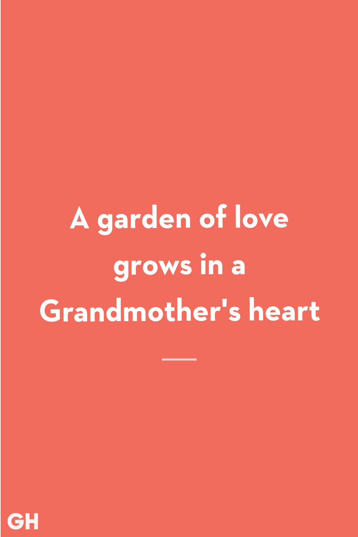 Grandma Quotes Garden of Love