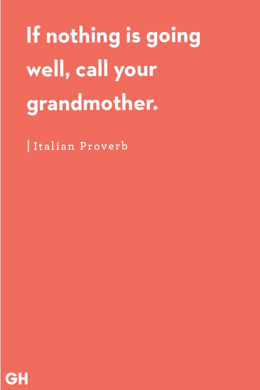 Grandma Quotes Italian Proverb