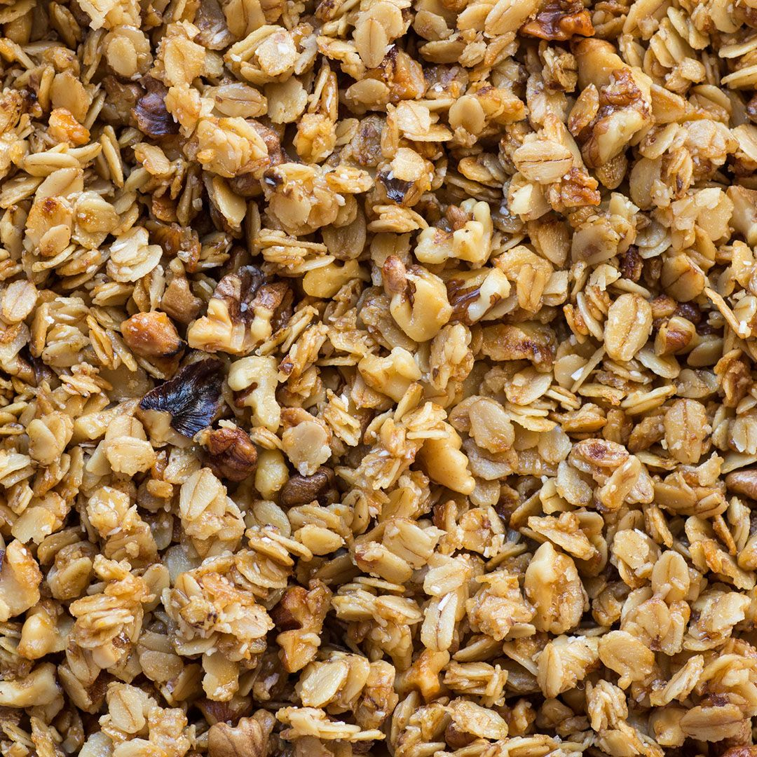 """Granola The granola you usually find at the store packs a ton of calories, fat, and sugar. """"While granola can be part of an overall healthy diet, check the label,"""" says Lindsey Pine, R.D. """"Some brands can have 600 calories per cup."""""""