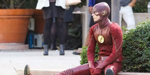 The Flash pensando