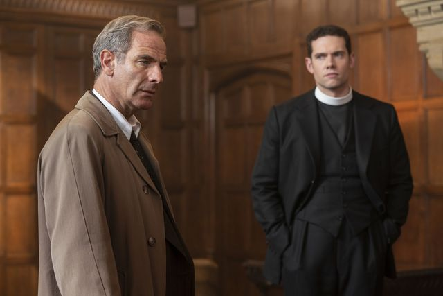 masterpiecegrantchester, season 5episode foursunday, july 5, 2020 900 – 1000pm eta streaker is found dead on the fens, sparking an unusual case for will and geordie that draws them into the world of experimental psychotherapy and hallucinogensshown from left to right robson green as geordie keating and tom brittney as will davenportfor editorial use onlycopyright kudositvmasterpiece