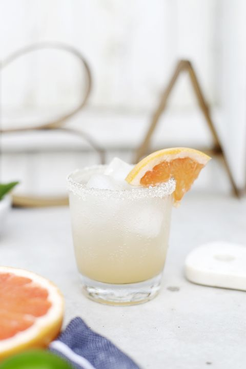 Grapefruit Honey Spritzer