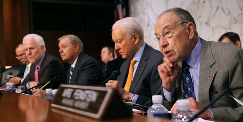 Senate Holds Hearing On Immigration Enforcement And Family Reunification