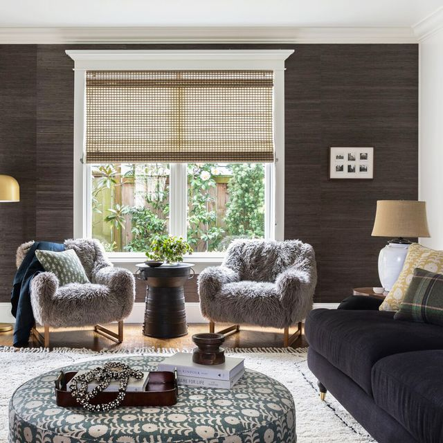 20 Beautiful Rooms With Grasscloth Wallpaper