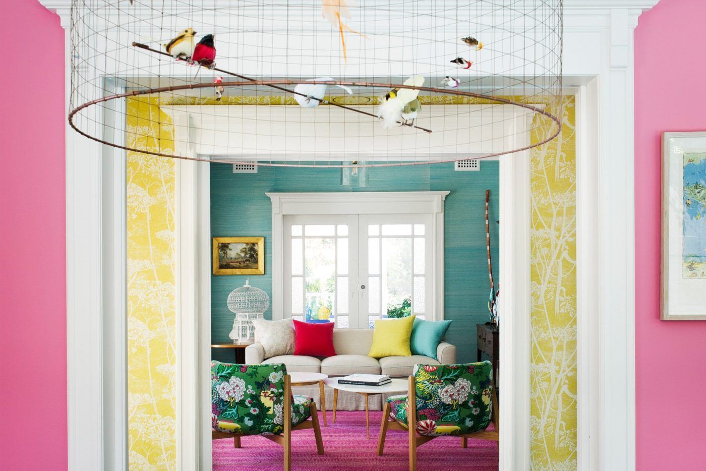 16 Rooms That Prove Just How Gorgeous Grasscloth Wallpaper Is