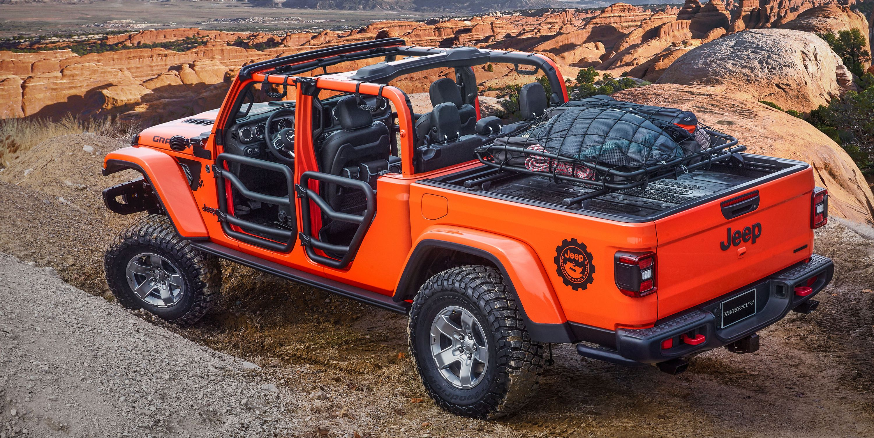 The Jeep Gladiator Gravity Has Rock Climber Style 2019 Moab Easter