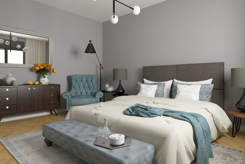 22 Serene Gray Bedroom Ideas - Decorating With Gray