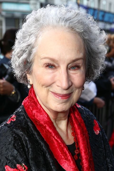 gray hair color ideas  margaret atwood