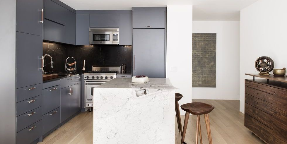 32 Best Gray Kitchen Ideas Photos Of Modern Cabinets Walls