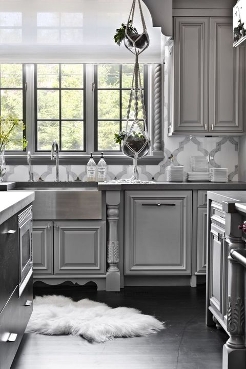 14 Best Grey Kitchen Cabinets - Design Ideas with Grey Cabinets