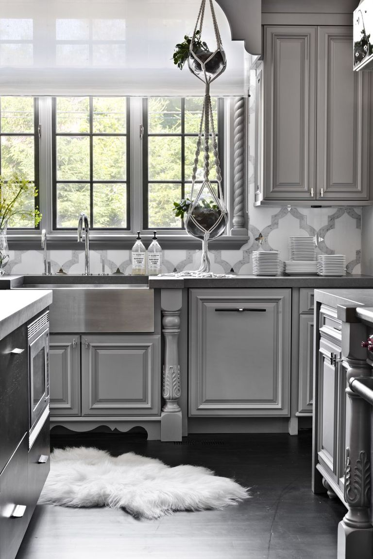 14 Best Grey Kitchen Cabinets - Design Ideas with Grey ...