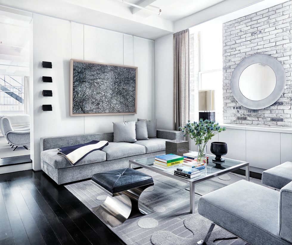 11 Best Gray Living Room Ideas - How to Use Gray Paint and Decor