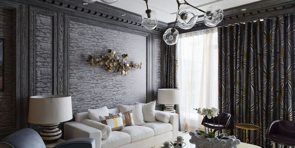 Gray Living Rooms