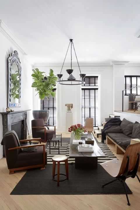 27 Best Gray Living Rooms Ideas - How to Use Gray Paint and Decor in ...