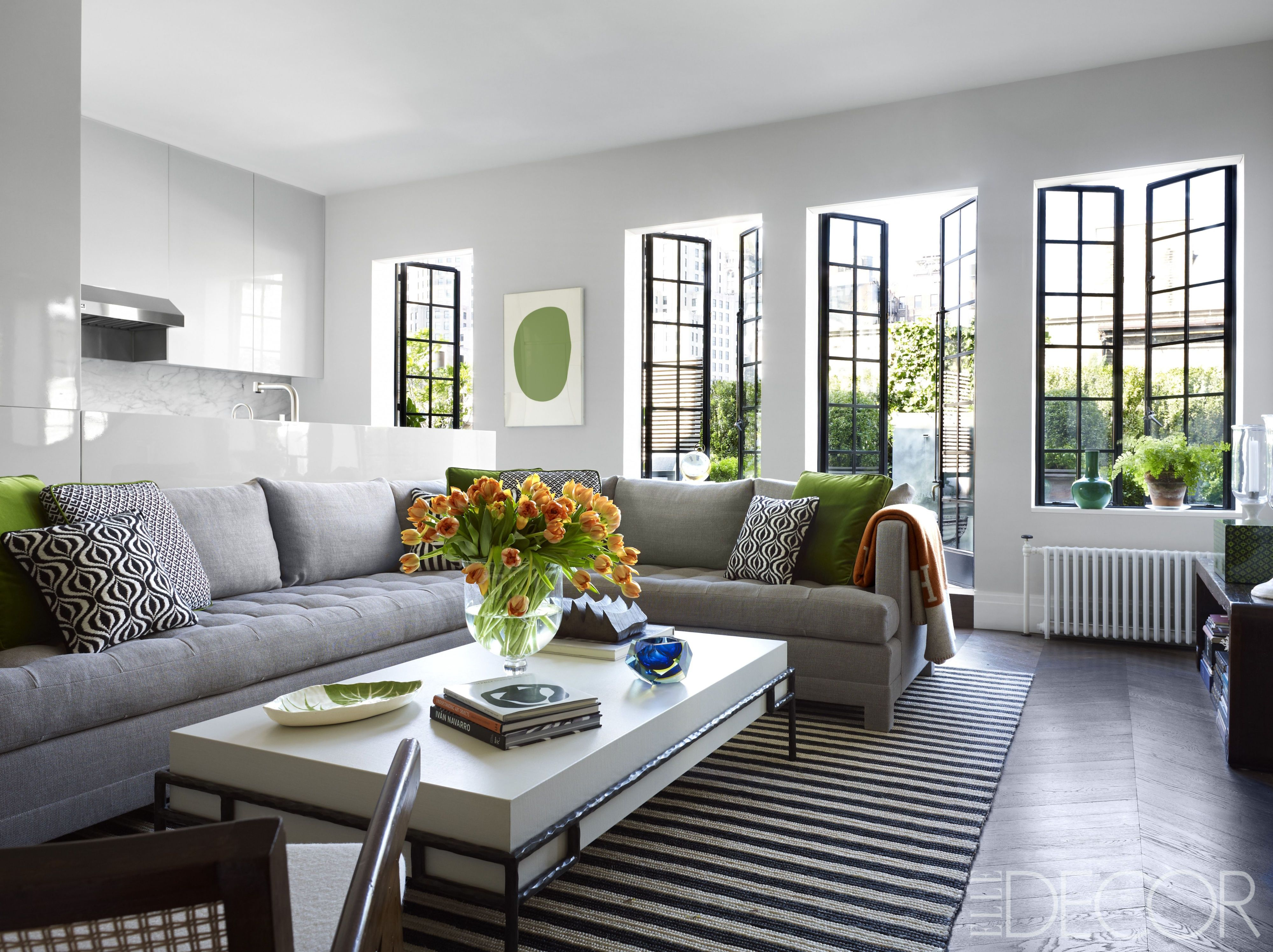 27 best gray living rooms ideas how to use gray paint and decor in rh elledecor com living room decor with gray sofa living room with gray couch