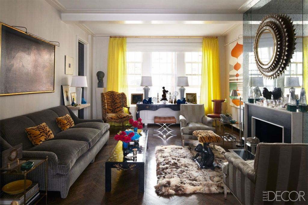 yellow and gray living room.  20 Best Gray Living Room Ideas Grey Rooms