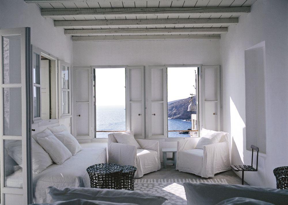 Inside Paola Navone's Greek island home