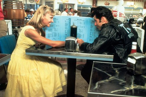 Olivia Newton John And John Travolta Just Dressed Up In Their Grease Costumes