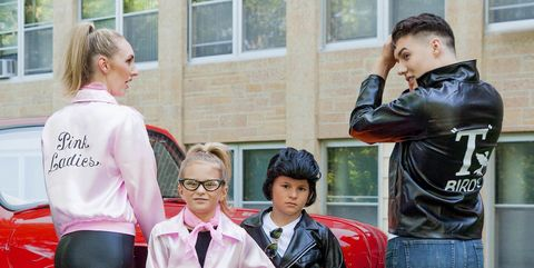 grease halloween costumes for groups