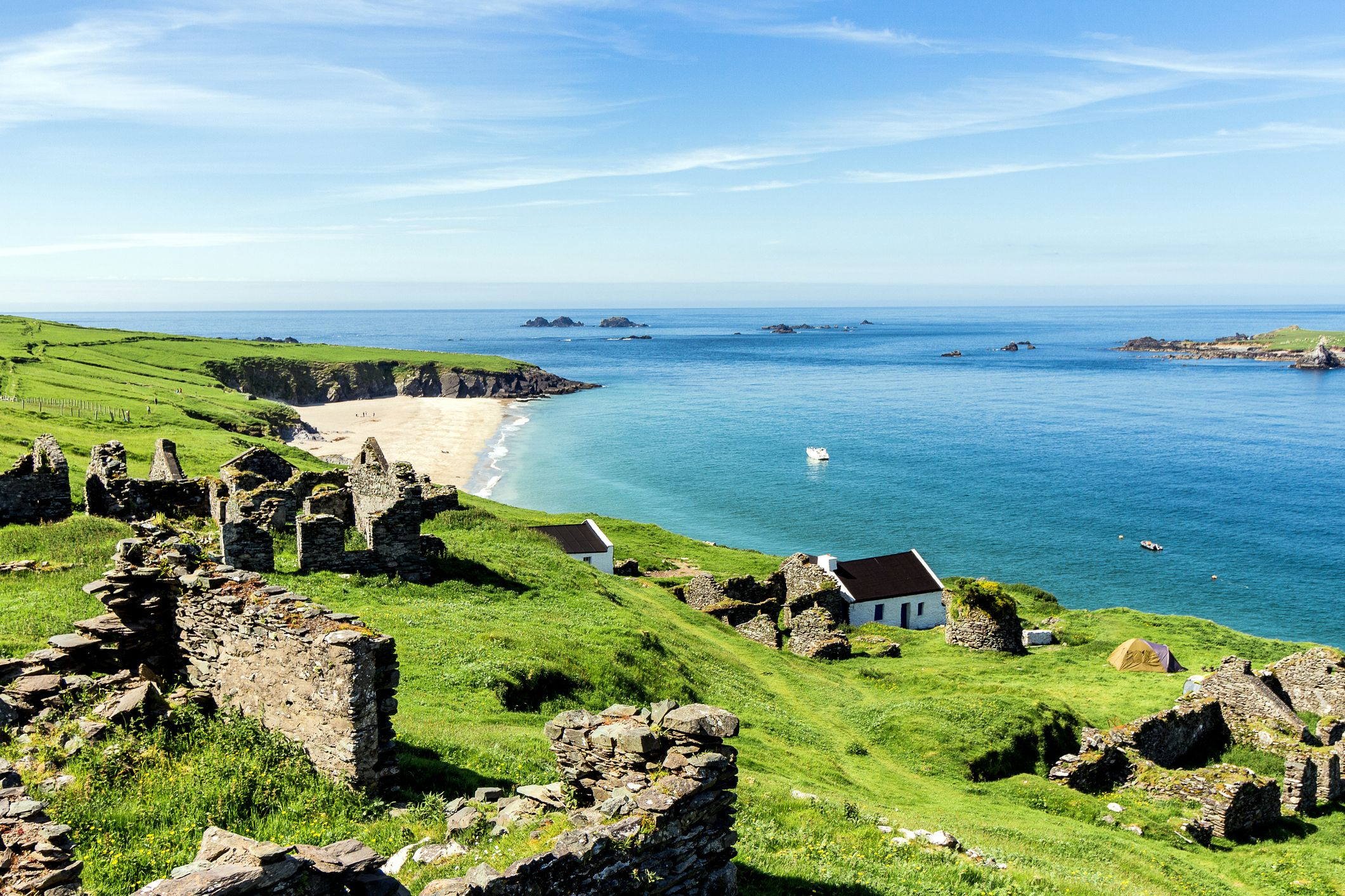 You can live for free on the remote Irish island of Great Blasket for 7 months