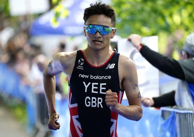 alex yee vence en las series mundiales de triatlon de leeds