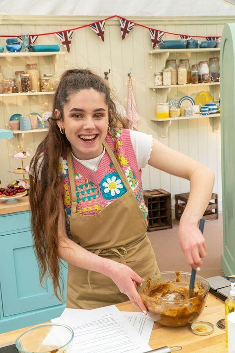 freya, great british bake off contestant