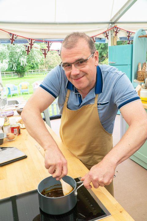 juergen, great british bake off contestant