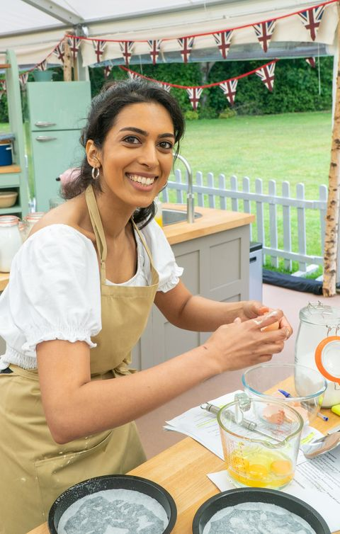 crystelle, great british bake off contestant